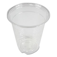 Clear Plastic Cold Cups, 12 oz, PET, 1000/Carton