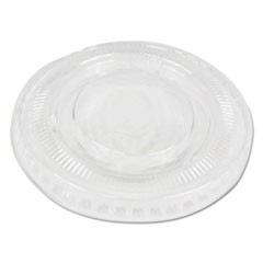 Souffl�/Portion Cup Lids, Fits 1 oz Portion Cups, Clear, 1000/Carton