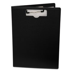 "Portfolio Clipboard With Low-Profile Clip, 1/2"" Capacity, 8 1/2 x 11, Black"