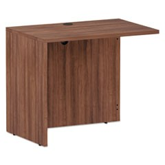 Alera Valencia Series Reversible Return/Bridge Shell, 35x23.63x29.63, Mod Walnut