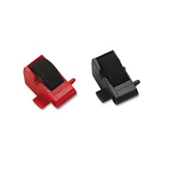 R14772 Compatible Ink Rollers, Black/Red, 2/Pack
