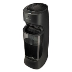 Top Fill Tower Cool Mist Humidifier, 1.7 gal, 9.8w x 8.7d x 24.7h, Black