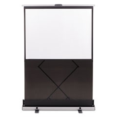 Euro 60 Instant Portable Cinema Screen w/Silver Carrying Case, 60 x 60