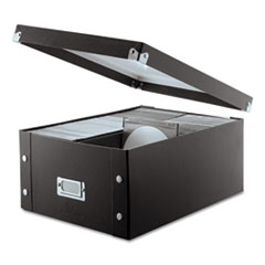 Media Storage Box, Holds 120 Slim/60 Standard Cases