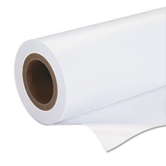 "Premium Luster Photo Paper, 3' Core, 44"" x 100 ft, White"