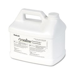 Fendall Eyesaline Stream II Eyewash Station Refill, 180 oz Bottles, 4/Carton