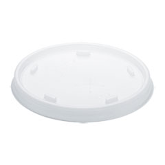 Plastic Cold Cup Lids, Fits 8-9oz Cups, Translucent, 1000/Carton