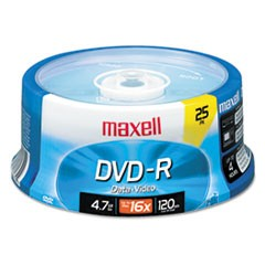 DVD-R Discs, 4.7GB, 16x, Spindle, Gold, 25/Pack