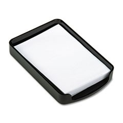 2200 Series Memo Holder, Plastic, 4w x 6d, Black