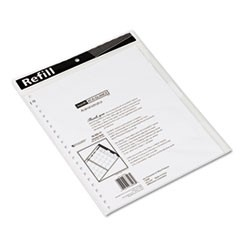 Monthly Planner Refill, 9 x 11, White, 2021