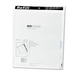 Three/Five-Year Monthly Planner Refill, 9 x 11, White, 2019