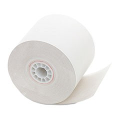 "One Ply Receipt Roll, 2 1/4"" x 150 ft, White, 12/Pack"