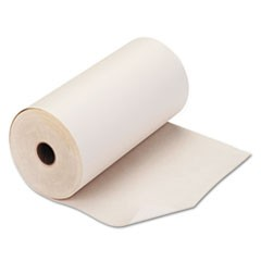 "Teleprinter Paper Roll, 8 7/16"" x 235 ft, White"