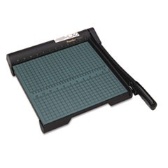 "The Original Green Paper Trimmer, 20 Sheets, Wood Base, 12 1/2""x 12"""