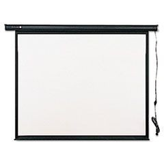 Electric Wall or Ceiling Mount Projection Screen, 70 x 70, Three-Position Switch