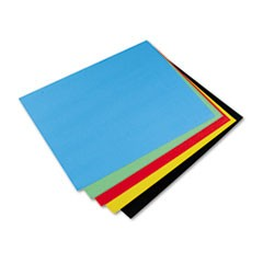 Peacock Four-Ply Railroad Board, 22 x 28, Assorted, 25/Carton