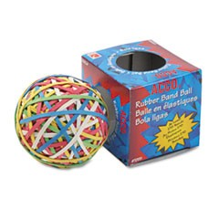 Rubber Band Ball, Approximately 275 Rubber Bands, Assorted