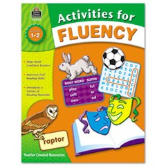 Activities for Fluency, Grades 1 to 2, 144 Pages