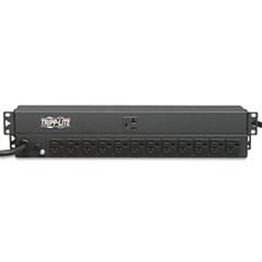 PDU1220 Single Phase Basic PDU 20A 120V 1U RM 13 Outlet 5-15/20R 15ft Cord