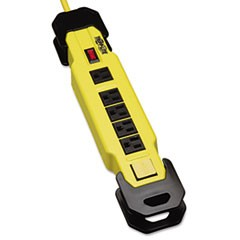 TLM609GF Safety Power Strip 6 Outlets, 9 ft Cord w/GFCI Plug