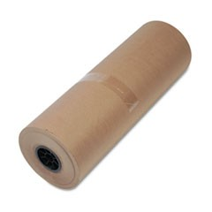 "High-Volume Wrapping Paper, 40lb, 24""w, 900'l, Brown"