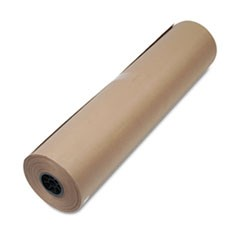 "High-Volume Wrapping Paper, 50lb, 36""w, 720'l, Brown"
