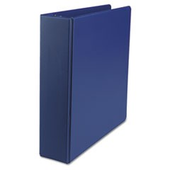 "Economy Non-View Round Ring Binder, 2"" Capacity, Royal Blue"