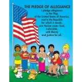 CHARTLET THE PLEDGE OF ALLEGIANCE  17 X 22
