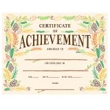 WOODLAND FRIENDS CERTIFICATE OF  ACHIEVEMENT