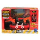 DINO CONSTRUCTION CO RESCUE CREW  BLAZE THE PLESIOSAURUS FIREBOAT
