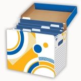 FILE N SAVE SYSTEM FILE FOLDER BOX  12 X 8 X 10