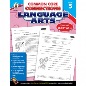 LANGUAGE ARTS GR 5 COMMON CORE  CONNECTIONS