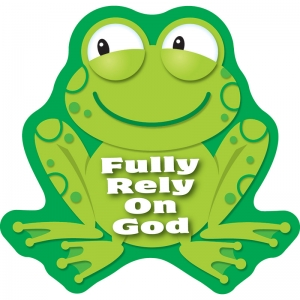 FULLY RELY ON GOD STICKERS
