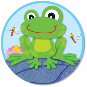 FUNKY FROG TWO SIDED DECORATION