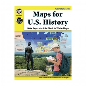 MAPS FOR US HISTORY GR 5-8