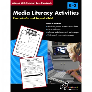 MEDIA LITERACY ACTIVITIES BOOK  GR K-3