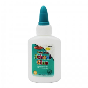 ECONOMY WASHABLE SCHOOL GLUE 1.25OZ