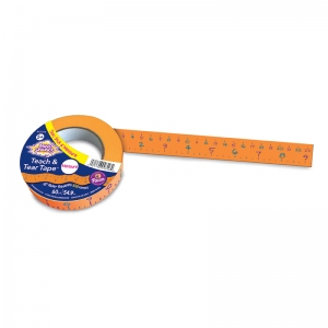 TEACH & TEAR MEASURING TAPE