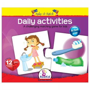 MAKE A MATCH PUZZLES DAILY  ACTIVITIES
