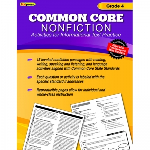 COMMON CORE NONFICTION BOOK GR 4