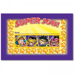 SUPER JOB INCENTIVE PUNCH CARDS