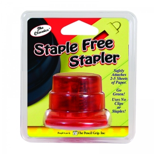 STAPLE FREE STAPLER CARDED