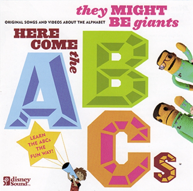 HERE COMES THE ABCS CD/DVD SET BY