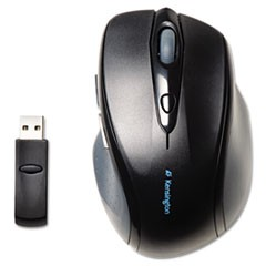 Pro Fit Full-Size Wireless Mouse, Right, Black