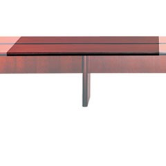 Corsica Conference Series 6' Adder Modular Table Top, Sierra Cherry