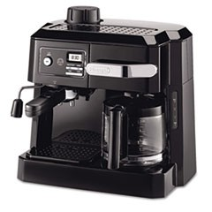 BCO320T Combination Coffee/Espresso Machine, Black/Silver
