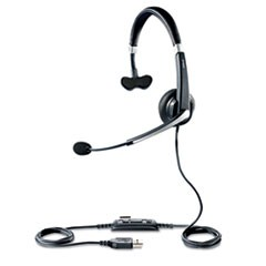 UC Voice 550 Monaural Over-the-Head Corded Headset
