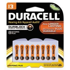 Button Cell Lithium Battery, #13, 8/Pk