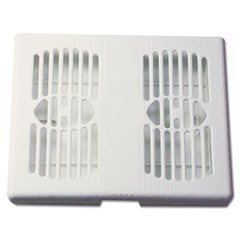 Good Sense 30-Day Air Freshener Dispenser, 6 2/10 x 6 7/10 x 5, Off White