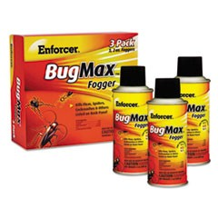BugMax Fogger, 2 oz, For Ants/Cockroaches/Crickets/Spiders